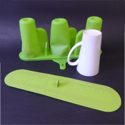STAMPO IN SILICONE A 3 TAZZE