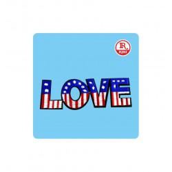 LOVE BANDIERA AMERICANA...