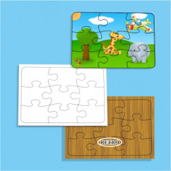 PUZZLE IN MDF SUBLIMABILE...