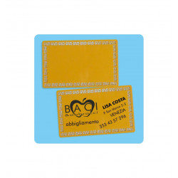 sacchetto trasp. senza foro cm 5.5x10 (mis.utile cm 5.5x7)