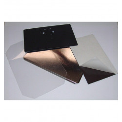 Cofanetto Tascabile Quadrato con Decoro su Porcellana - Caccia alla Volpe
