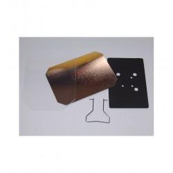 Cofanetto Tascabile Cuore con Decoro su Porcellana - Fiori Assortiti
