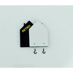 Portapillola Tascabile Rettangolare con Decoro su Porcellana - Gatti Giocosi