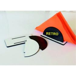 Ovale Trasparente Personalizzabile con Logo 4 colori