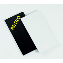 Cuore in plastica, colori assortiti 22 x 16 mm