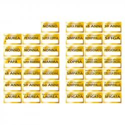 COMPONENTE GREZZO TONDO DIAM.65 MM - Con apribottiglie con magnete