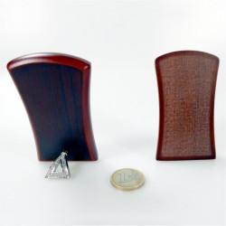 Piastrina bombata tonda in porcellana con immagine Papa Benedetto Ø mm 41