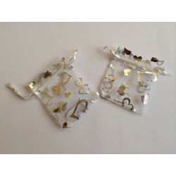 Kristal grande c/argento s/immagine Mis cm.4,4x5