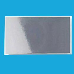 Decalcomania sfondo bianco con mughetto cm 5x5
