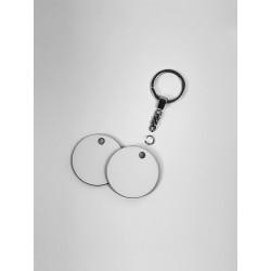 Girocollo di corda c/ciondolo ovale in legno piccolo. 1000/50